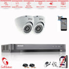 4CH Hikvision DS Security System DVR HDMI 1080P 2.4MP Sony IMX323 Outdoor Camera