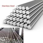 Stainless Steel 304 Round Metal Bar Solid Rod Dia 3-14mm Length 125mm-500mm Good