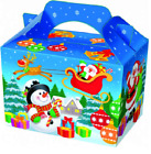 CHRISTMAS FOOD BOXES PARTY BAG FILLERS PARTY BAGS SUPPLIES TREAT BOXES