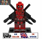DEADPOOL Custom minifigure-4 Weapons Free,Fits With Lego,UK Seller,Marvel,DC