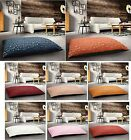 Extra Large Floor Padded Cushion Pillow Jacquard Suede Removable Anti Slip