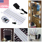 10FT White Dressing Mirror Lighted Cosmetic Makeup Vanity LED Light+Remote+Power