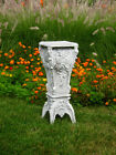 "30"" Fiber Stone French Pedestal for Statue or Plant"