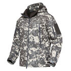 Waterproof Tactical Soft Shell Mens Jacket Coat Army Military Jacket Windbreaker