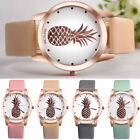Fashion New Women Stainless Steel Pineapple Watches Quartz Analog Wrist Watch image