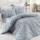 Duvet Cover 100% Cotton Hidden Zipper High Quality Made in Turkey US Standards