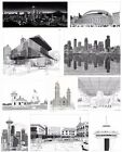 Pen and Ink Drawings by Patrick T Kerr Black and White Prints Seattle Washington