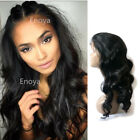 Pre Plucked 360 Lace Frontal Wig Brazilian Remy Human Hair Wigs 180% Density 7A