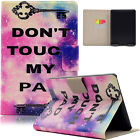 Painted Flip Smart Leather Wallet Card Case Cover For Amazon Paperwhite 1 2 3th