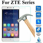 100% GENUINE TEMPERED GLASS FILM SCREEN PROTECTOR FOR ZTE VARIOUS MODELS