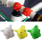 Silicone Bike Skull Frog Light Wheel Warning Safety Portable Mini Colorful