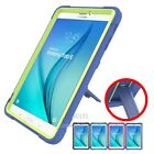 """Armor Shockproof Silicone Case Cover For Samsung Galaxy Tab E 9.6""""T560/T561+Film"""
