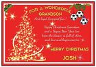 Personalized Liverpool Inspired Christmas Card (2 Designs) - Gorgeous !