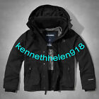 ABERCROMBIE & FITCH MENS ALL-SEASON WEATHER WARRIOR JACKET BLACK SIZE LARGE