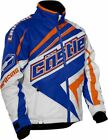 Castle X Men's Launch SE G2 Blue/Orange Insulated Snowmobile Jacket 70-906X