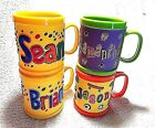 My Name Mug Personalized Children's Kid's Sippy Cup Handle John Hinde