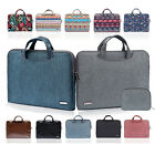 """11"""" 13"""" 15"""" Computer Carrying Cover Laptop Tote Case Pouch Handbag For HP Sony"""