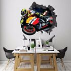 3D Motorcycle 72 Wall Murals Stickers Decal breakthrough AJ