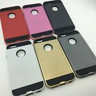 Strong Durable Slim Armor Shock Proof Case Cover for APPLE IPHONE 5S 6 7 8PLUS X