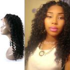 360 Lace Frontal Wig Glueless Malaysian Virgin Human Hair Curly 360 Lace Wigs