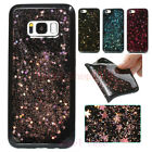 For iPhone 8 X 6S 7 Plus New Bling Giltter Star Shockproof Soft TPU Case Cover