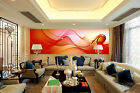 3D Red Floating Art 8 Wall Paper Murals Wall Print Wall Wallpaper Mural AU Kyra