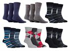 Farah - 3 Pairs Mens Breathable Colored Funky Soft Casual Fashion Cotton Socks