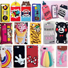 3D Child Gifts Silicone Rubber Gel Soft Case Cover Skin For iPhone 5/6/7G/S Plus