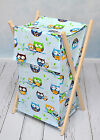 LAUNDRY HAMPER FOR NURESERY STORAGE BASKET WITH REMOVABLE LINEN 70 LITRE