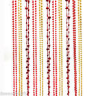 1PC Decoration Originality Accessories Christmas Ornament plated Bead string