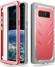 Galaxy Note 8 Rugged Case w/ Built-in-Screen Protector | Poetic Shockproof Cover