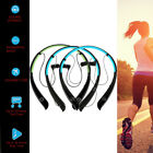 Wireless Bluetooth Stereo Sports Headset Earbuds Headphone For Samsung iPhone LG