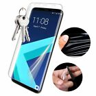 2X TOMKAS Tempered Glass Fr Samsung Galaxy S8 S8 Plus 3D Round Curved Protective