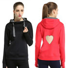 Women Sweatshirt Tops Breathable Sports&Fitness Jogging Hooded Hoodies Tracksuit