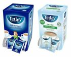 Tetley Tea Bags Sachets - Individual Enveloped Tagged Tea Bags - 100% Black Tea