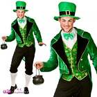 Deluxe Leprechaun Adult Mens Fancy Dress Costume Irish St Patricks Day Xmas Elf