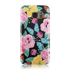 SHABBY ROSE CHIC PRINTS FLORAL HARD CASE COVER FOR SAMSUNG GALAXY MOBILE PHONES