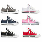 CONVERSE CHUCK TAYLOR ALL Leading LOW TOP INFANT/TODDLER SHOES SNEAKERS TRAINER
