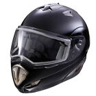 Polaris Modular LS Black Snowmobile Helmet With Electric Shield 2863148XX
