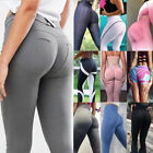 Women's Fitness Leggings Push-Up Sports Yoga Pants Sexy Trousers Running Elastic