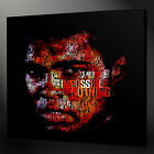 MUHAMMAD ALI CANVAS PICTURE PRINT WALL ART HOME DECOR FREE FAST DELIVERY