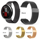 Milanese Magnetic Loop Stainless Wrist Watch Band Strap For Xiaomi Huami Amazfit
