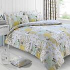 Boutique Lemon Vintage Patchwork Printed Duvet Cover Set Reversible Bedding Set