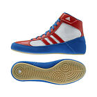 Adidas Havoc Wrestling Shoes Boots Trainers Pumps Mens Adults Blue White Red