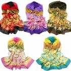 Women Long Chiffon 5 Color Soft Silk Scarf Scarves Chiffon Shawl Wrap Wraps