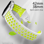 38mm 42mm Sport Band Strap Silicone Replacement Bracelet For Apple Watch iWatch