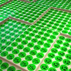 Garage Sales Labels Price Round Dot Color Stickers Neon Green Pieces 1040 Pack
