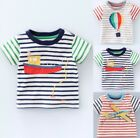 NEW JUST IN Baby Boden Boys Applique Top T Shirt Short Sleeve 0-3 Mths - 4Yrs