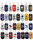 NFL team logo metal dog tag w/chain CHOOSE YOUR TEAM  FREE SHIPPING!!!!