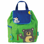 Stephen Joseph E7 Baby Toddler Boy Quilted Backpack ? SJ-1001 Choose Design
